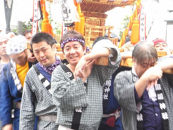 厳嶋神社御神輿