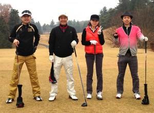 2012.12.6新宇都宮カントリークラブラウンド